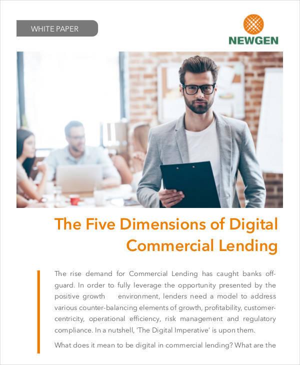 commercial lending white paper1