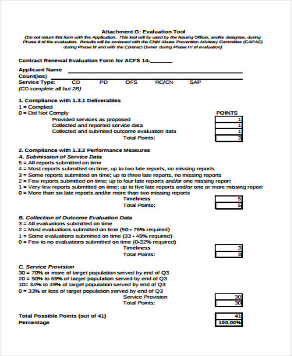 contract renewal evaluation form1