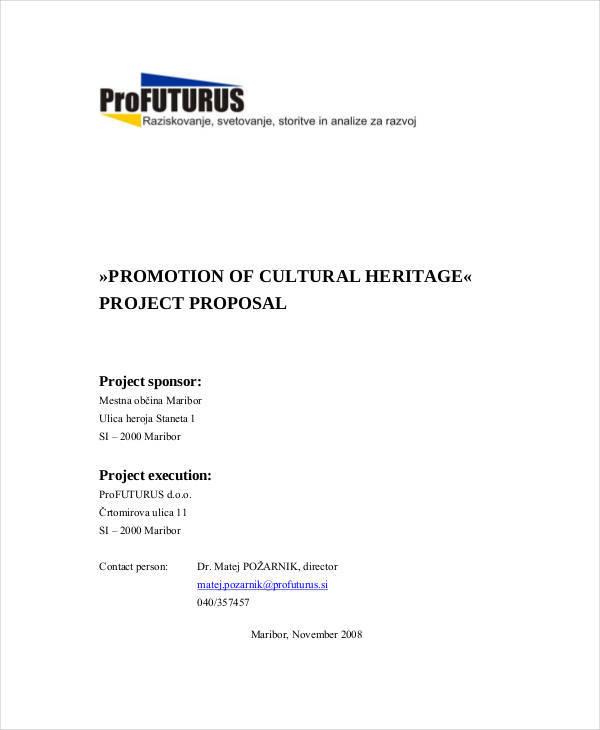 cultural event project