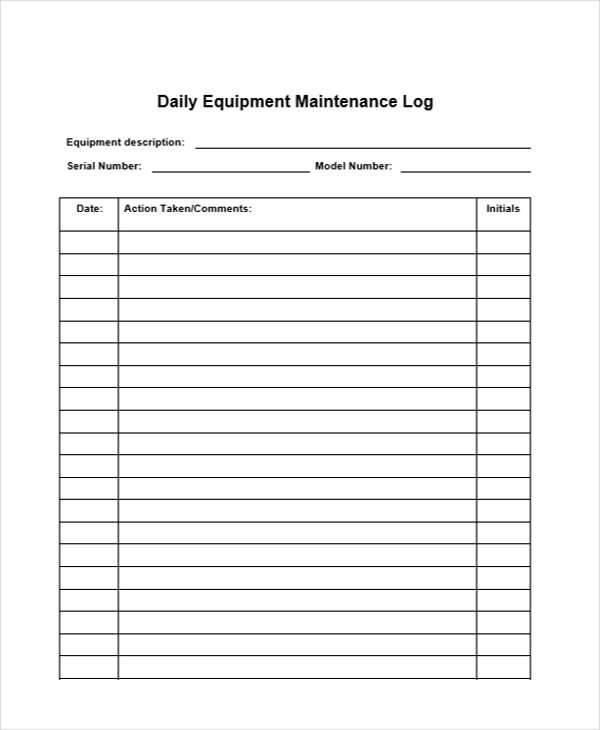 32 sample daily log sample templates for Daily hotel
