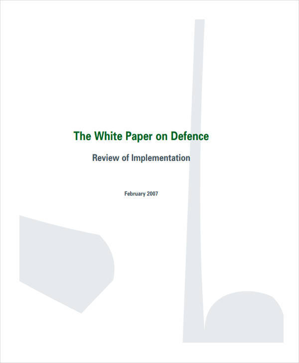 defence forces white paper1