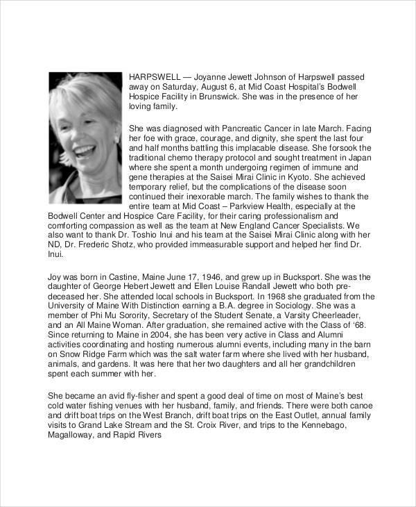 elegant memorial obituary1