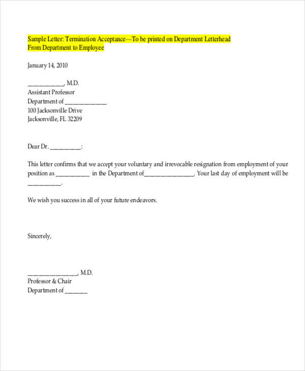 sample of contract acceptance letter