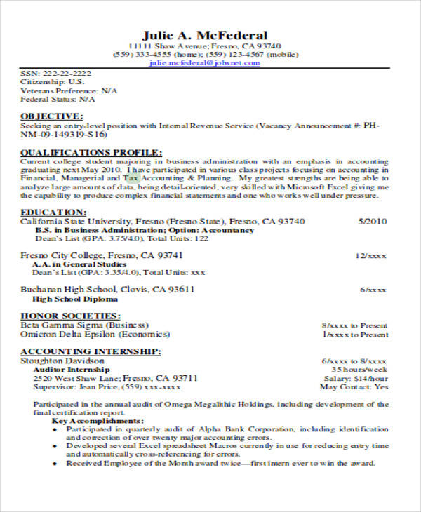 28 tax accountant sle resume tax accountant