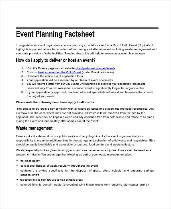 event planning2