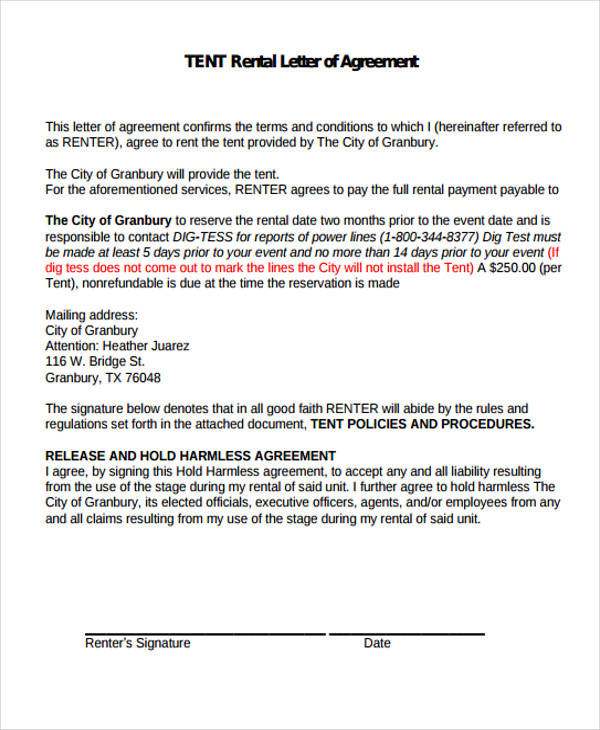 41 free sample agreements example platinumwayz