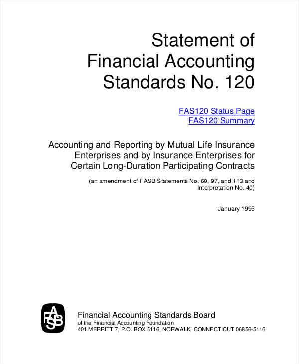 financial accounting sop
