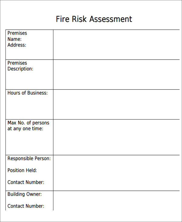 Free Assessment Forms