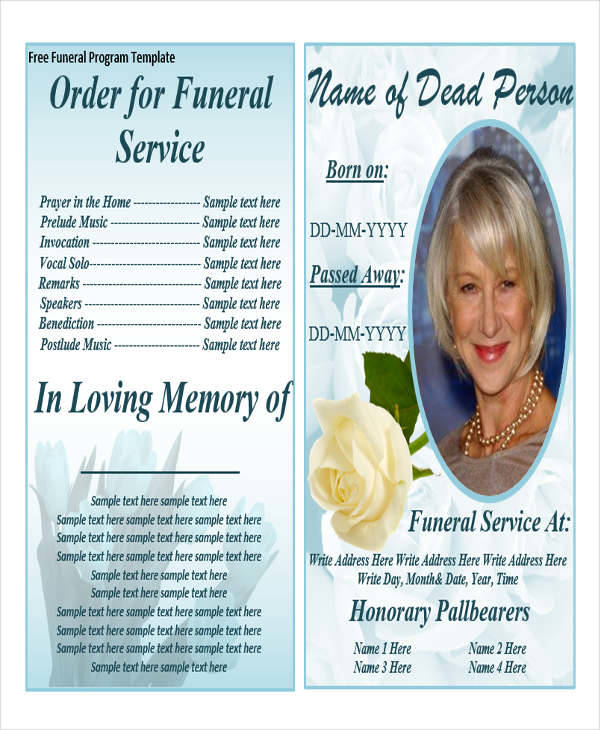 obituary guide template - 35 printable obituary samples sample templates