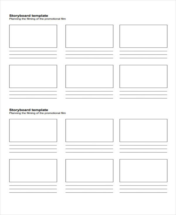 Storyboard Templates In Pdf