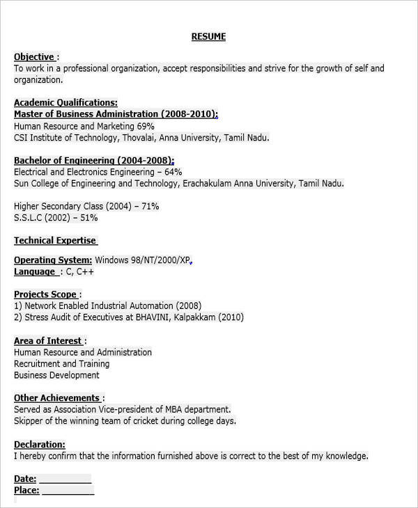 Resume Templates Business Analyst Fresher. Page Not Found The