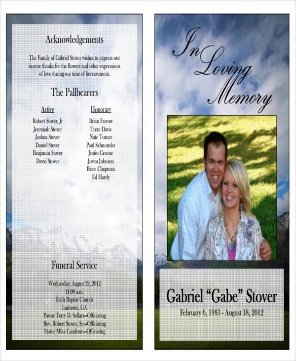 funeral program obituary1