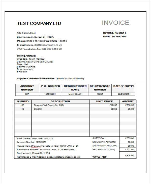 goods purchase bill1