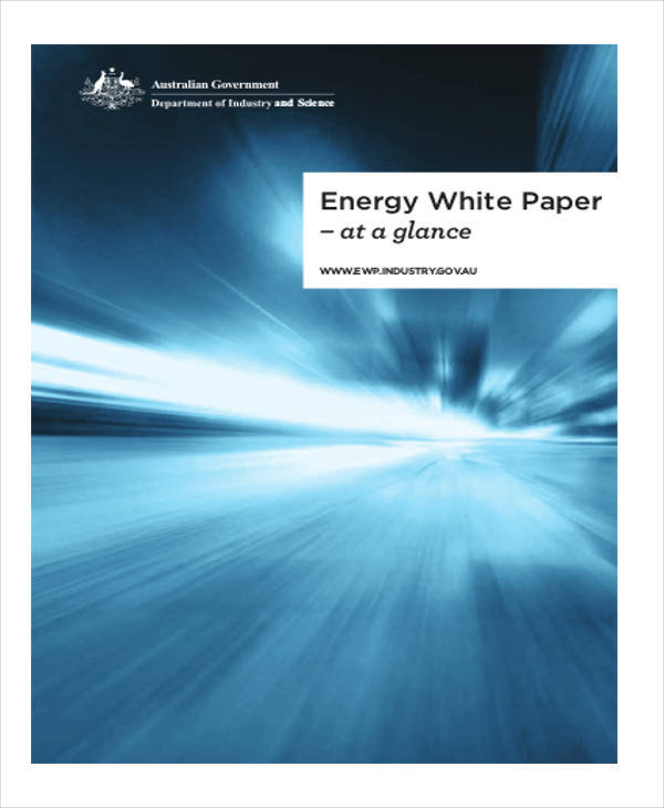 government energy white paper2