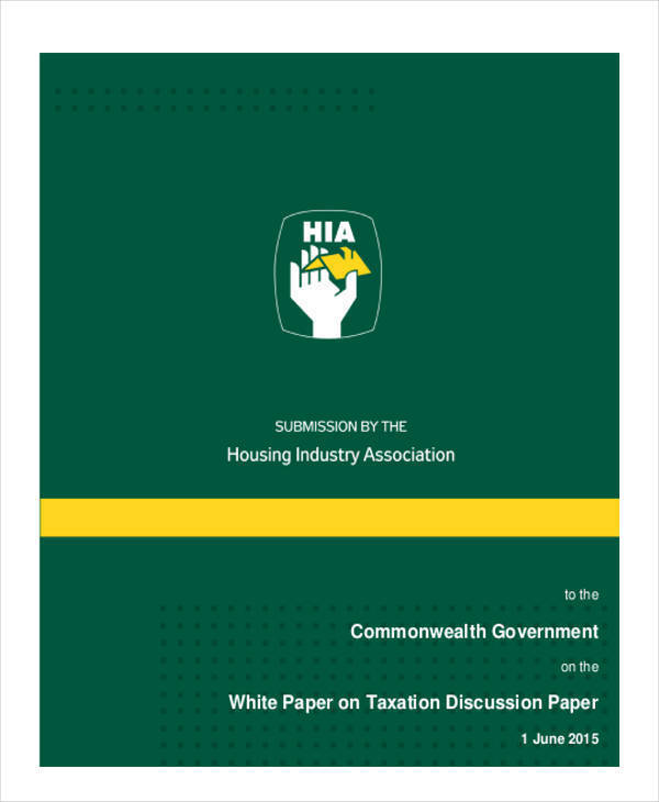 government tax white paper1