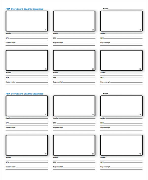 graphic storyboard