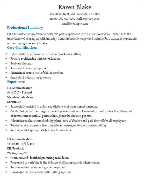 Awesome Resume Excel  Executive Resumes In Word Free Printable Resume Maker Excel with Marketing Intern Resume Pdf Admin Executive Resume Sample Resume Skills Section