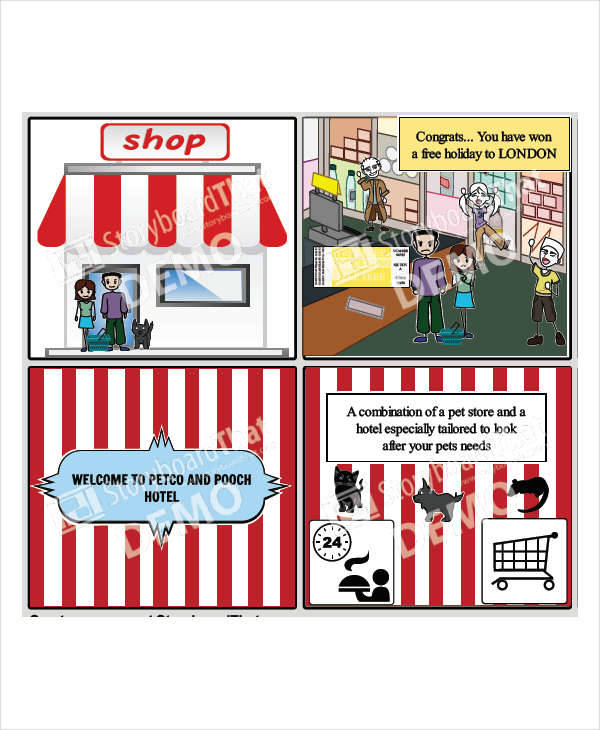 7+ Commercial Storyboard - Free Sample, Example, Format Download