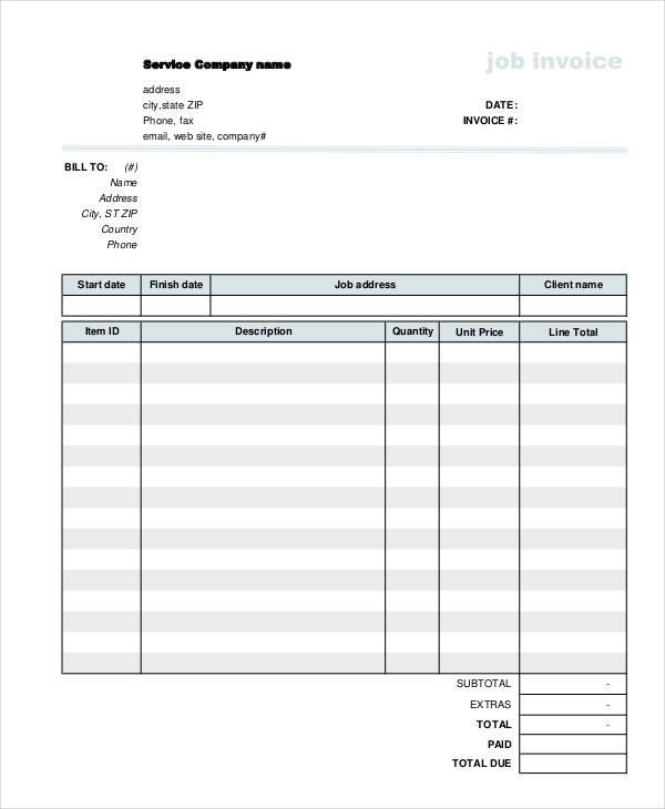 job work invoice1