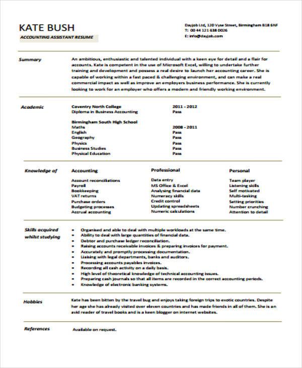 junior level accountant resume1