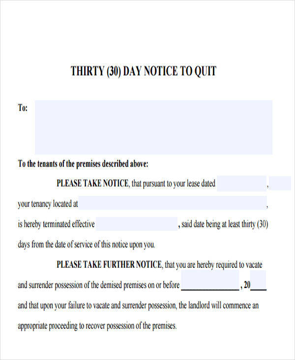 32 Eviction Notice Templates – Eviction Letter Template Uk