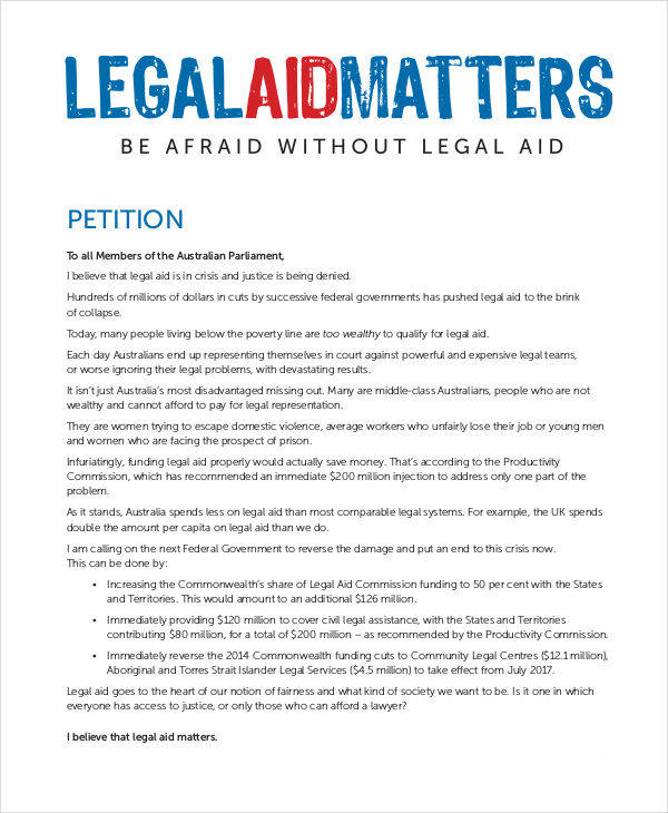 legal aid petition1