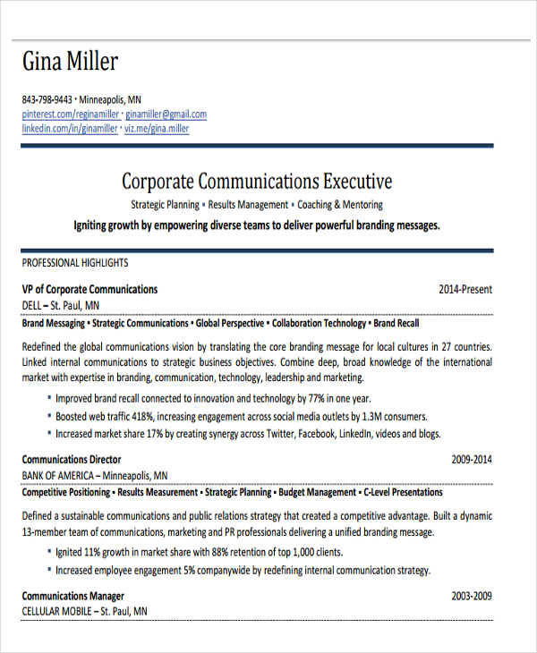 corporate communications cover letter ideas sles