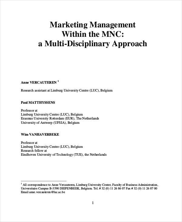25 Marketing Research Paper Topics - A Research Guide for Students