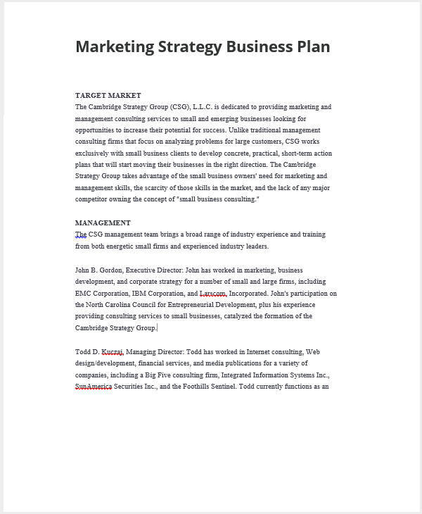 business plan target corporation 1 How to write a summary business plan: your target customer and what do you people needed change with the growth of the business 10 financial plan:.