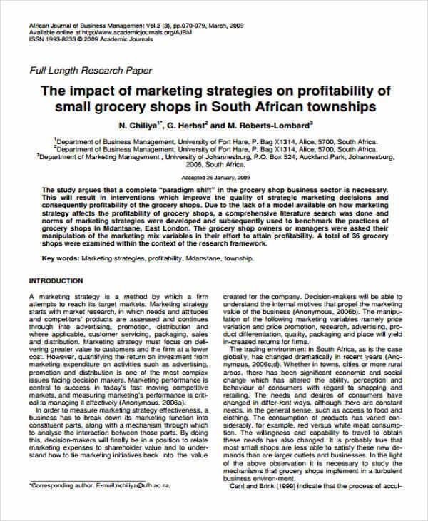 marketing strategy paper3