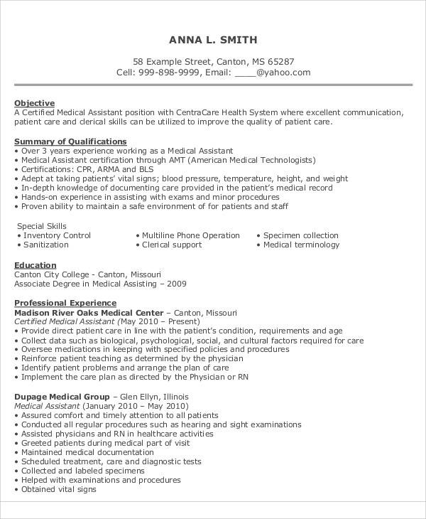 9+ Resume Objective Statement Example - Free Sample, Example