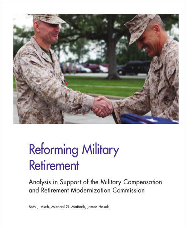 military retirement white paper1