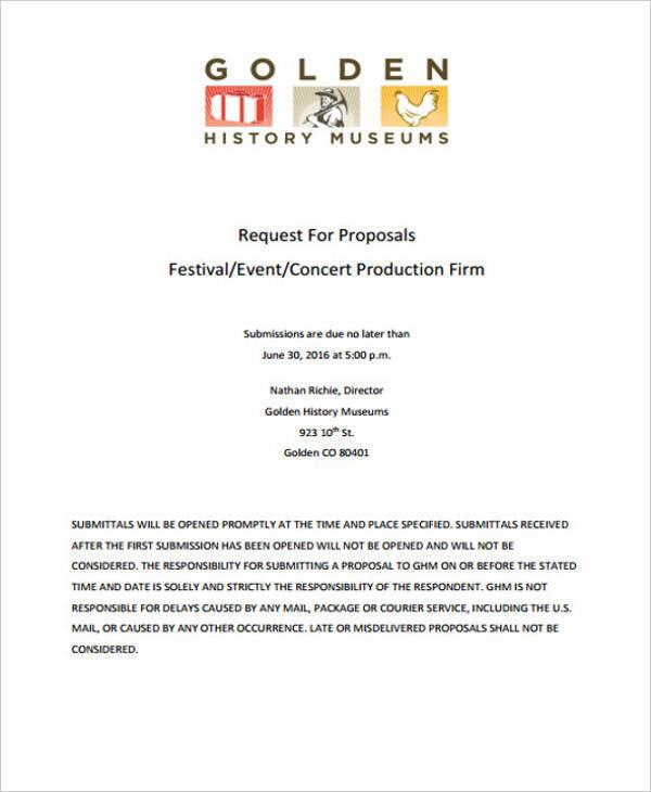 music festival event proposal2