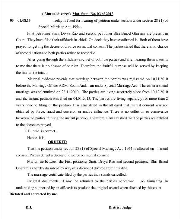 Petition Formats  Pdf Doc