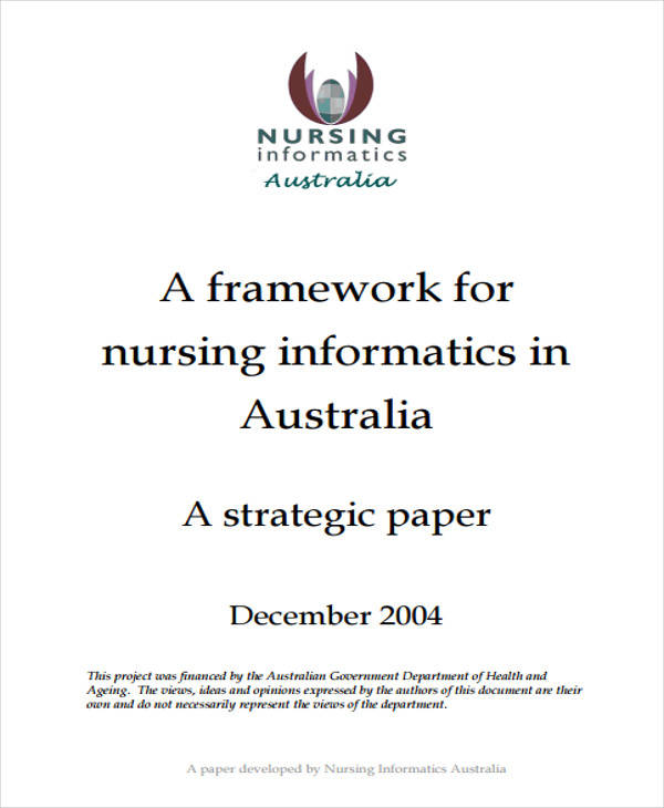 research paper on nursing informatics
