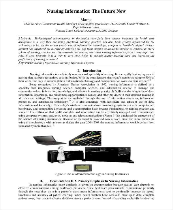 Term paper for sale nursing informatics