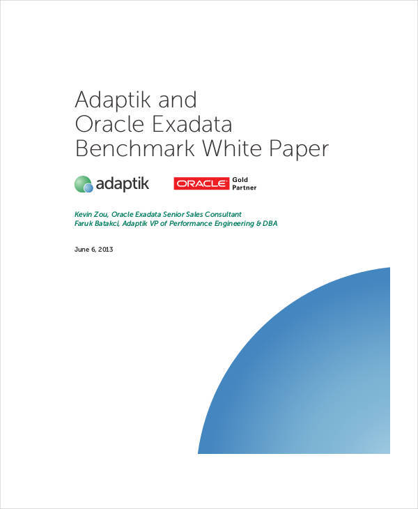 oracle white papers Find the latest oracle white papers and case studies from leading experts browse through the directory of free oracle publications.
