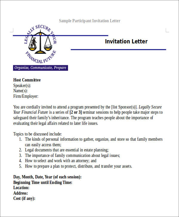 Format to write letter to congressman best of guest speaker host family cover letter participant invitation letter spiritdancerdesigns Image collections