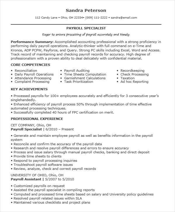 Executive Resume Designs