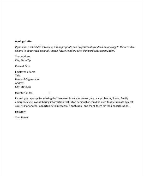 Sample business apology letter template 8 best images of sample letter apology for mistake spiritdancerdesigns Image collections