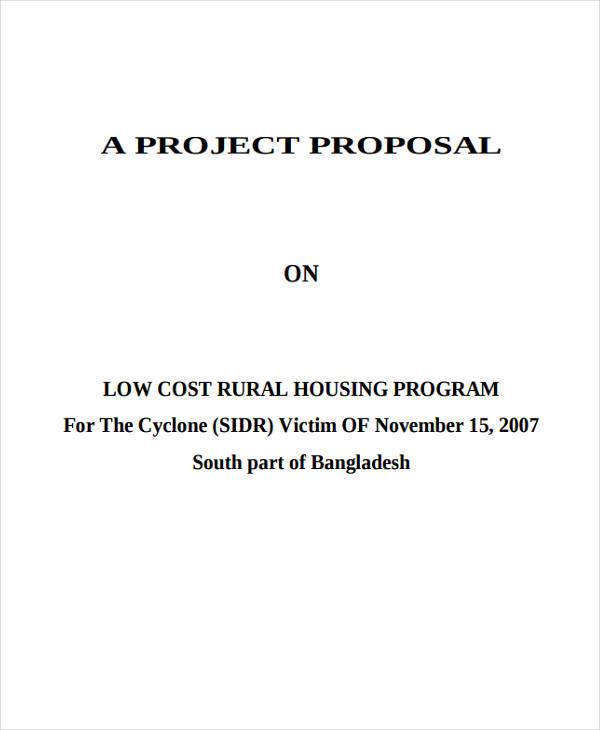program housing project