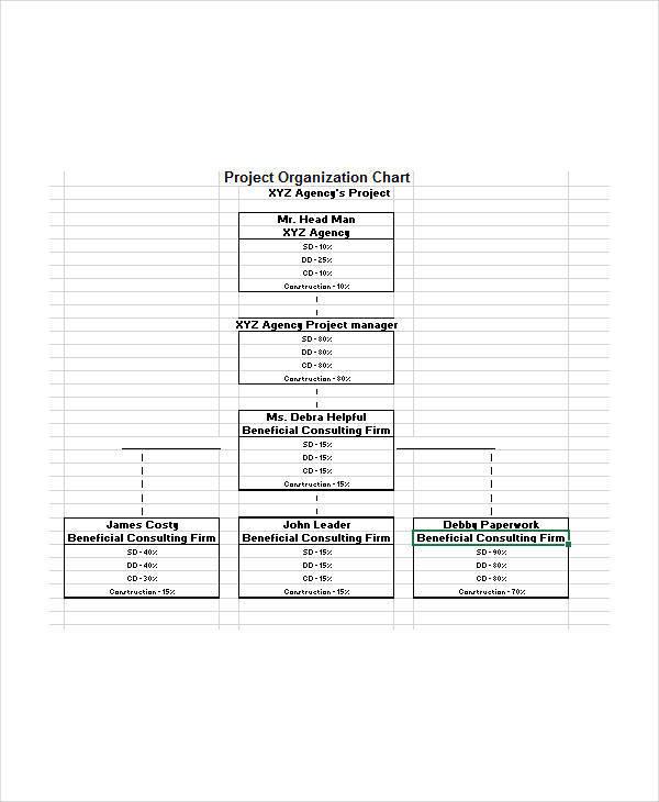 project organization chart2