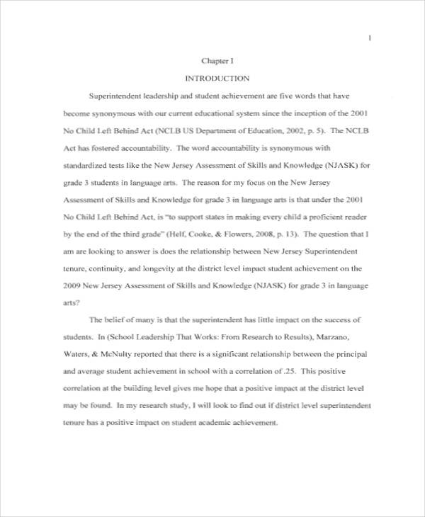 A Sample Research Paper