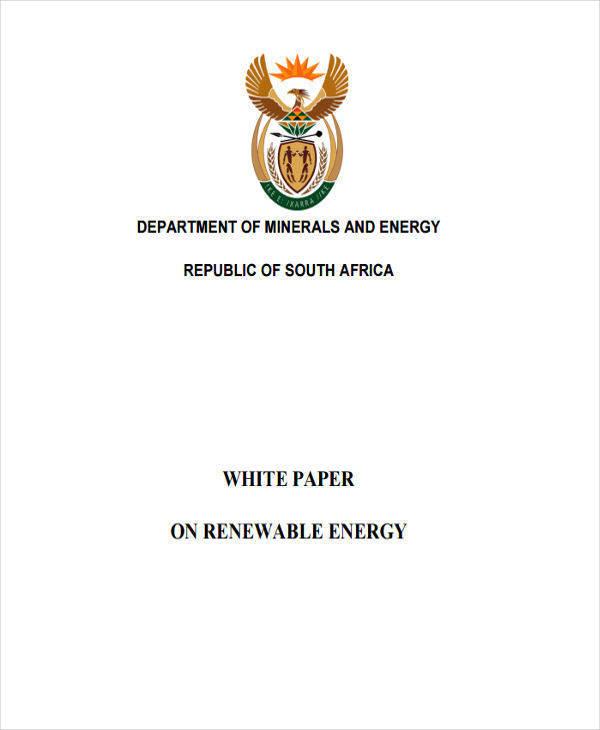 renewable energy white paper3
