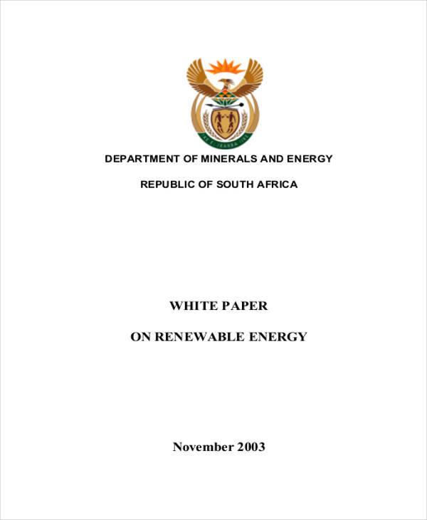 renewable energy white paper5