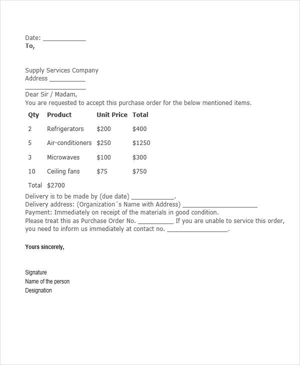 27 Requisition Letter Format – Purchase Requisition Letter