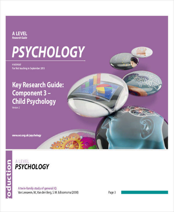 research on child psychology