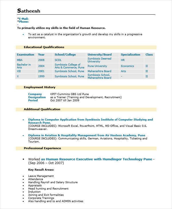 sr hr executive sle resume 28 images sales resume