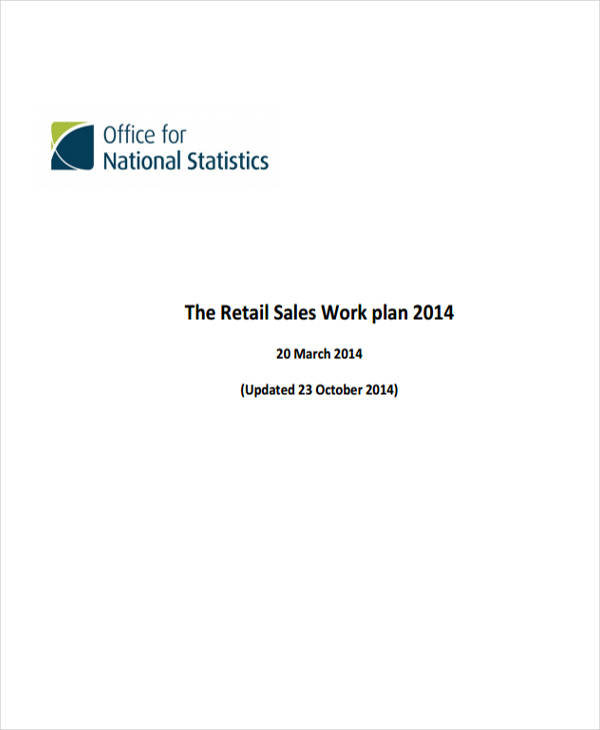 retail sales plan
