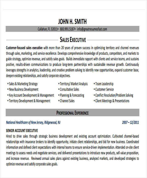 retail sales resume1